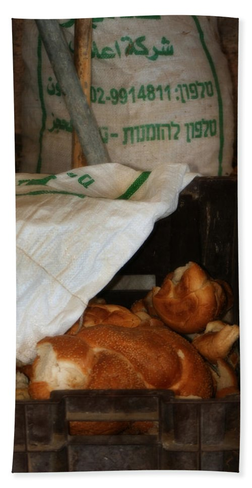 Challah Beach Towel featuring the photograph Fresh Challah Bread Art Prints by Doc Braham