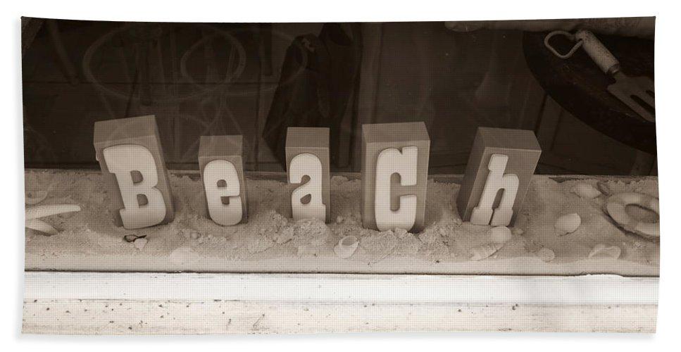 Beach Beach Towel featuring the photograph Beach by John Cardamone