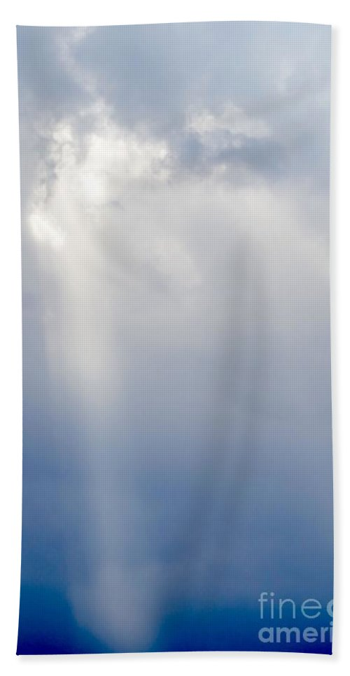 Weather Beach Towel featuring the photograph Beam Me Down by Gary Richards