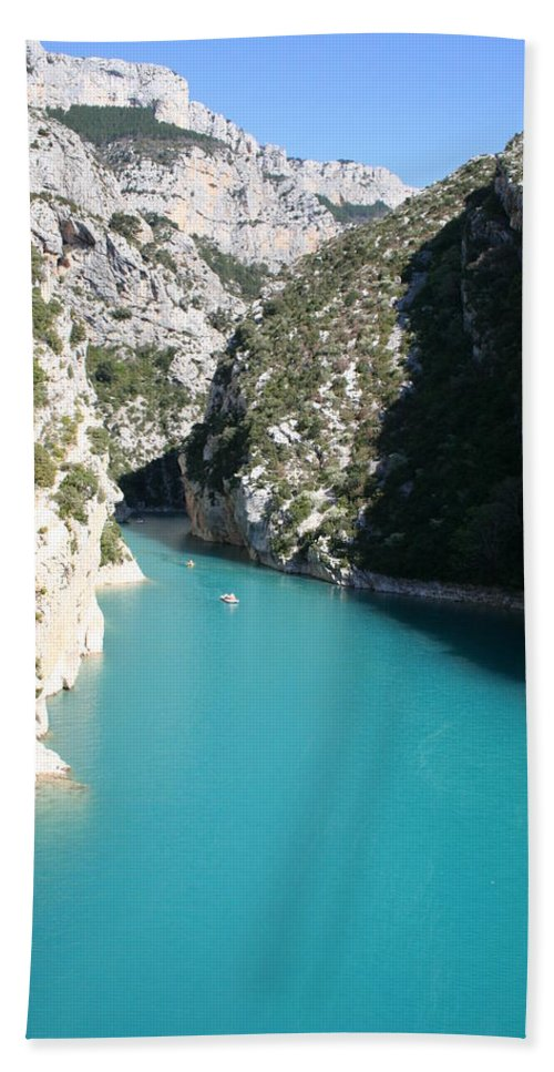 Lake Beach Towel featuring the photograph Beautiful Lac De Ste. Croix by Christiane Schulze Art And Photography