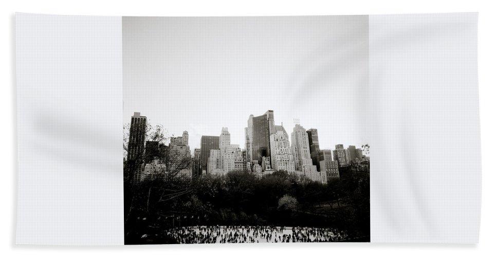 Inspiration Beach Towel featuring the photograph New York Memories by Shaun Higson