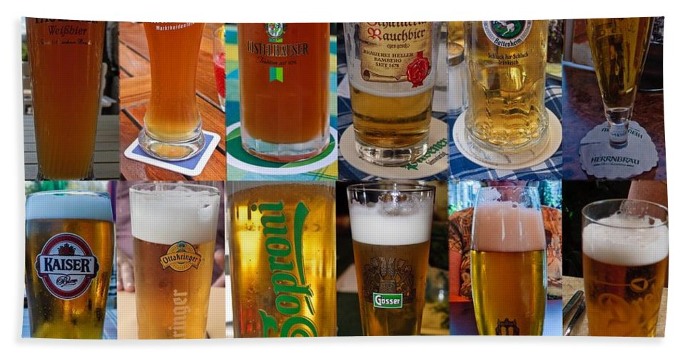 Beer Beach Towel featuring the photograph Beers Of Europe by Thomas Marchessault