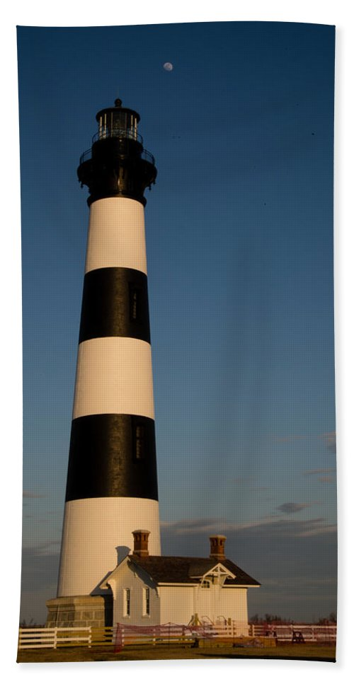 Lighthouse Beach Towel featuring the photograph Bodie Island Lighthouse by Stacy Abbott