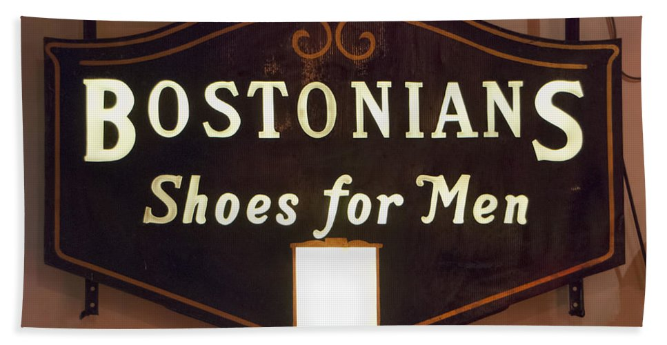 Bostonians Beach Towel featuring the photograph Bostonians by Phyllis Taylor