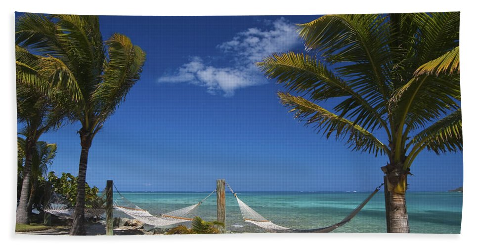 3scape Beach Sheet featuring the photograph Breezy Island Life by Adam Romanowicz