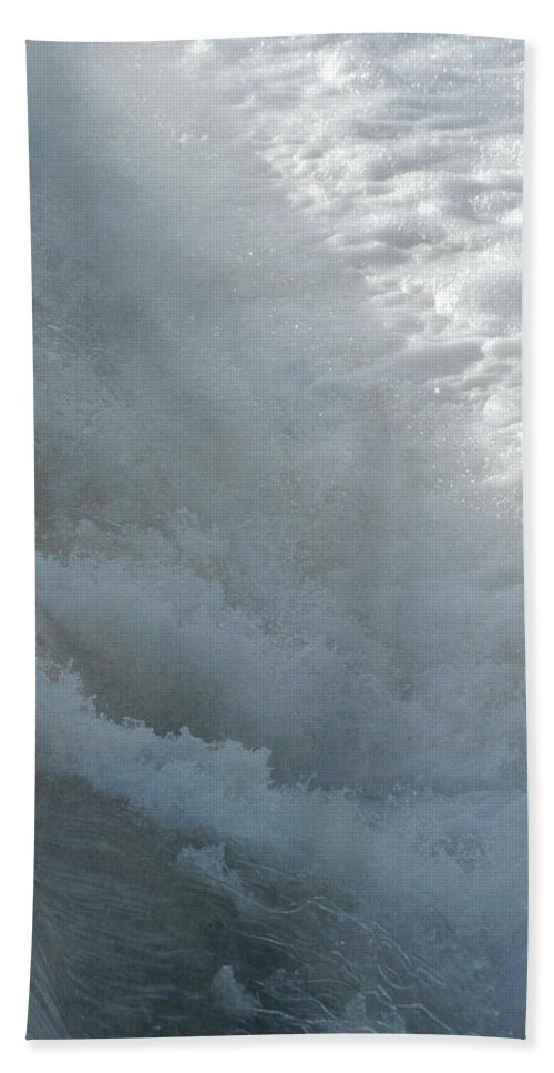 Containment Beach Towel featuring the photograph Brenke by Joseph Yarbrough
