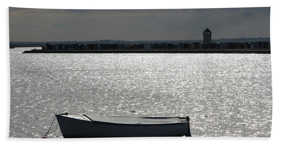 Brightlingsea Beach Towel featuring the photograph Brightlingsea Essex Uk by Martin Newman
