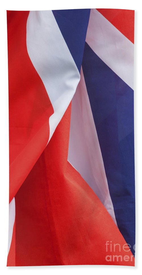 British Culture Beach Towel featuring the photograph British Pride by Diane Macdonald