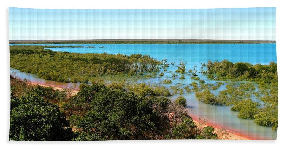 Mangrove Beach Towel featuring the photograph Broome Mangroves by Vickie Roy-Sneddon