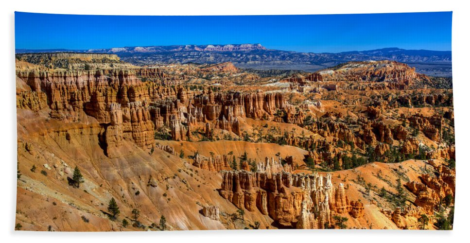 Bryce Canyon Beach Towel featuring the photograph Bryce's Glory by Chad Dutson