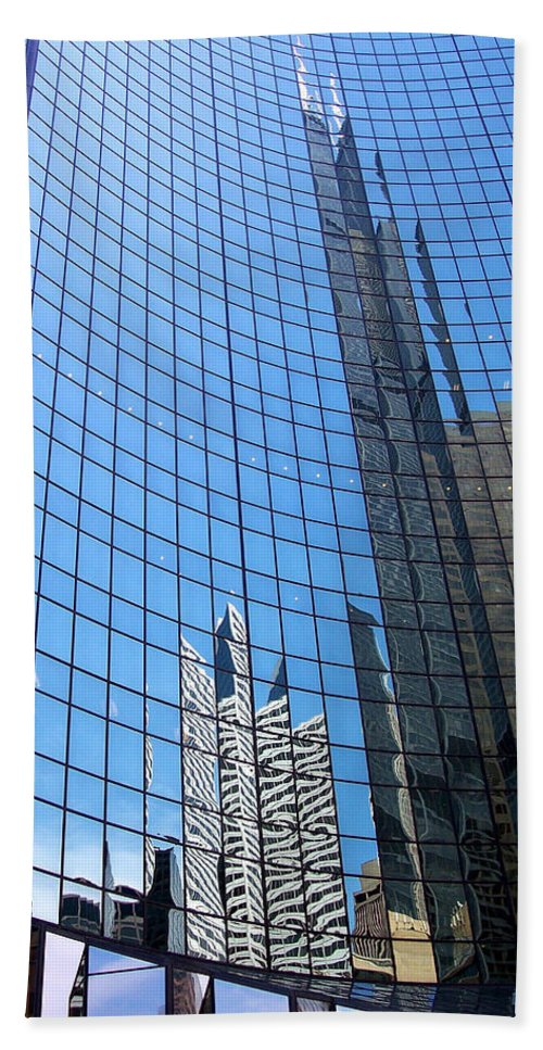 Buildings Beach Towel featuring the photograph Building Mosaic by Donna Blackhall