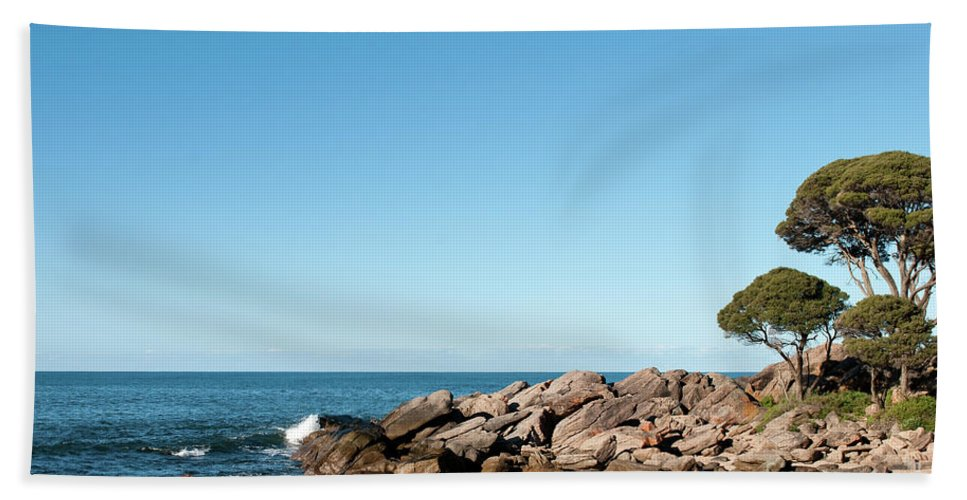 Bunker Bay Beach Towel featuring the photograph Bunker Bay 02 by Rick Piper Photography