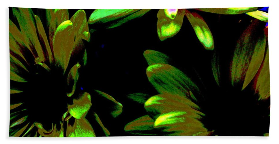 Art For The Wall...patzer Photography Beach Towel featuring the photograph Burst by Greg Patzer