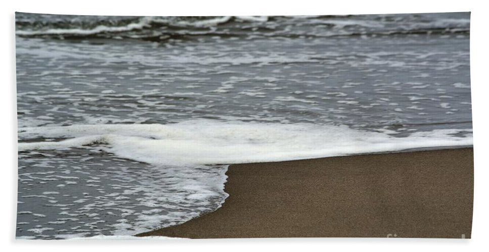 Ocean Beach Towel featuring the photograph By The Seashore by Beth Sanders