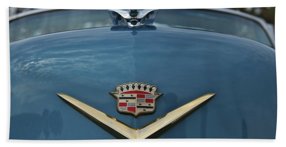 Antique Beach Towel featuring the photograph Cadillac by Jack R Perry