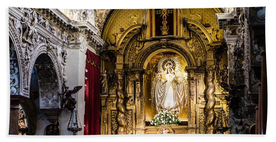 Seville Beach Towel featuring the photograph Call Of God by Andrea Mazzocchetti