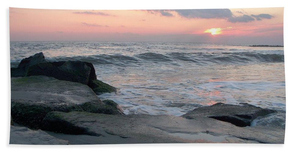 Cape May Beach Towel featuring the photograph Cape May by Eric Schiabor