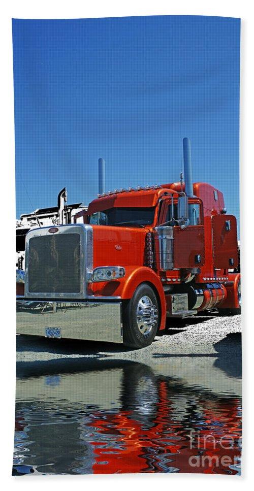 Trucks Beach Towel featuring the photograph Catr3080-13 by Randy Harris