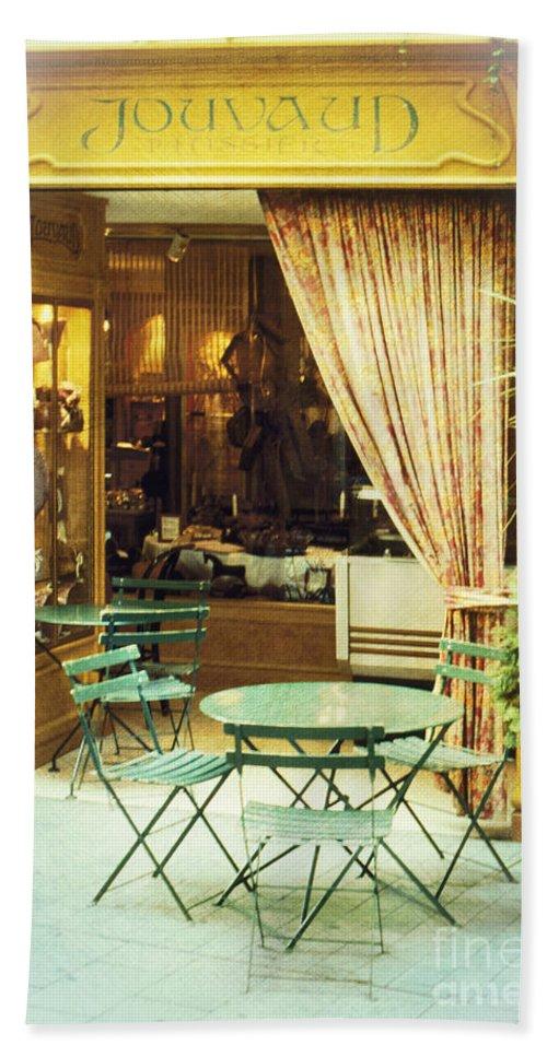 Heiko Beach Towel featuring the photograph Charming Street Still Life by Heiko Koehrer-Wagner