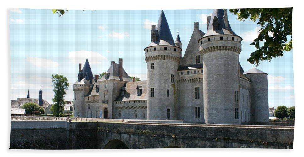 Castle Beach Towel featuring the photograph Chateau De Sully-sur-loire by Christiane Schulze Art And Photography