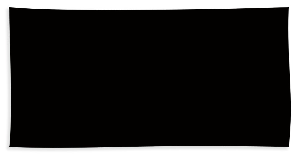 Cherries On Black Beach Towel featuring the photograph Cherries On Black by Barbara Griffin