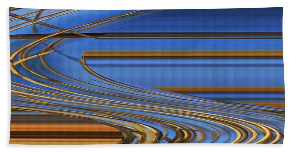 Chocolate Beach Towel featuring the digital art Chocolate by Carol Lynch