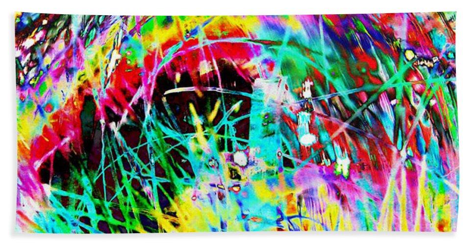 Christmas Beach Towel featuring the digital art Christmas by Carol Lynch
