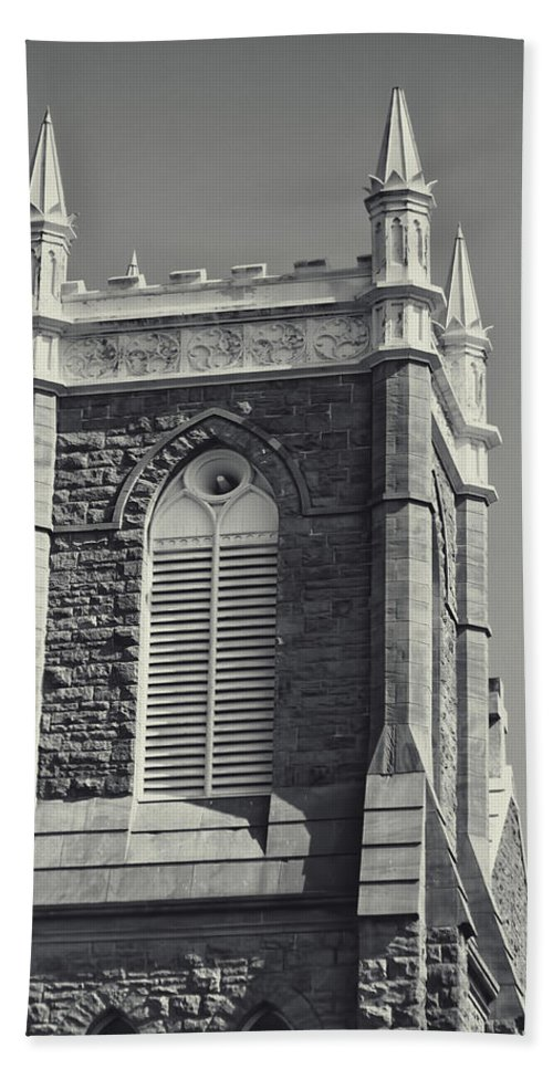 Beach Towel featuring the photograph Church In Tacoma 7 by Cathy Anderson