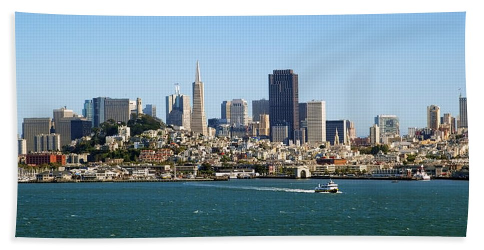 San Francisco Beach Towel featuring the photograph City By The Bay by Kelley King