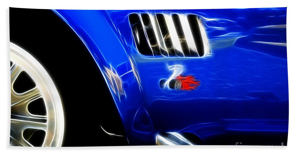 Car Shows Beach Towel featuring the photograph Classic Cars Beauty By Design 6 by Bob Christopher
