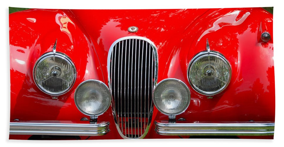 Automobiles Beach Towel featuring the photograph Classic Nose by John Schneider