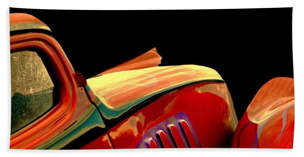 Car Beach Towel featuring the photograph Classic Sport by Diana Angstadt