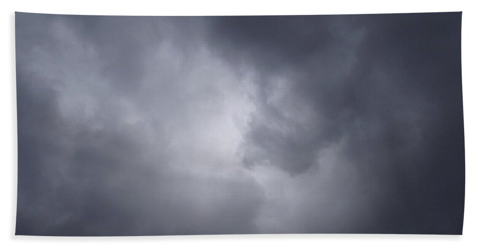 Clouds Beach Towel featuring the photograph Cloud Energy by Deborah Crew-Johnson