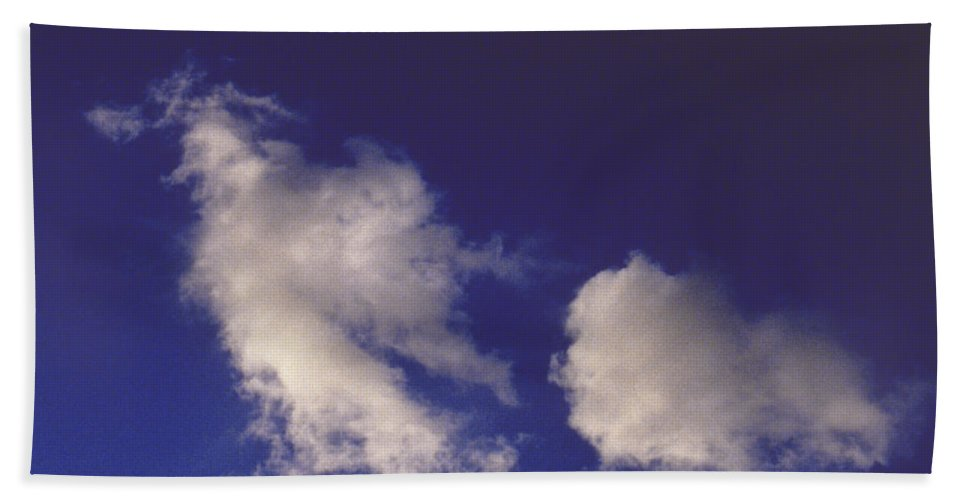 Clouds Beach Towel featuring the photograph Clouds by Mark Greenberg