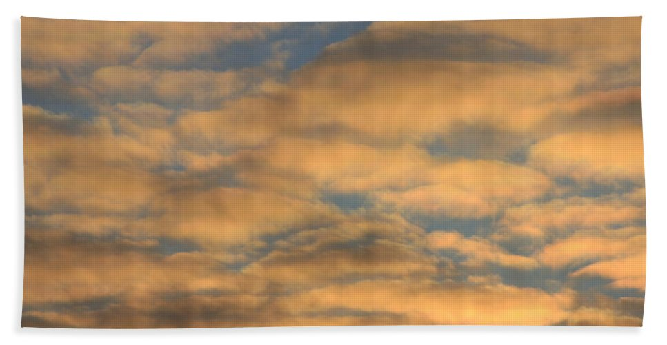 Beach Towel featuring the photograph Clouds by Mountains to the Sea Photo