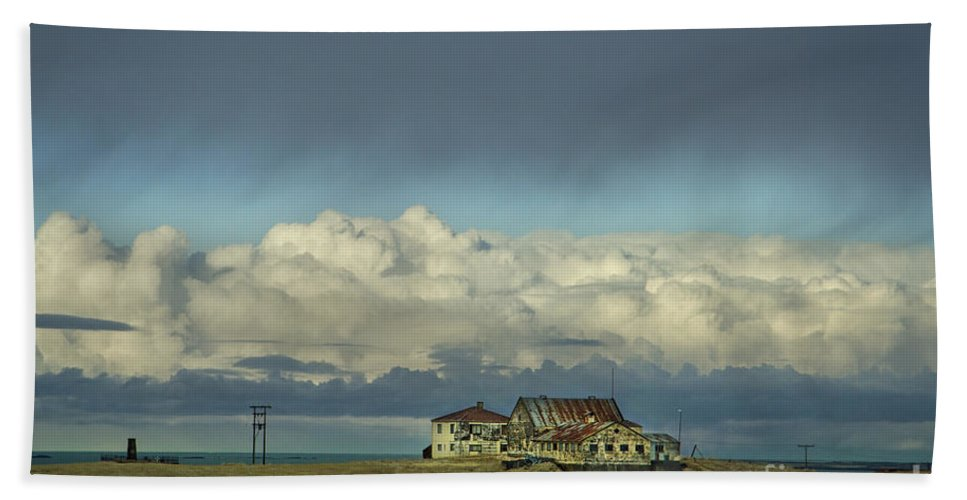 Cloud Beach Towel featuring the photograph Clouds Of My Mind by Evelina Kremsdorf