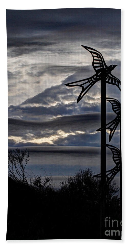 Clouds Beach Towel featuring the photograph Cloudy Day 8 by Jacklyn Duryea Fraizer
