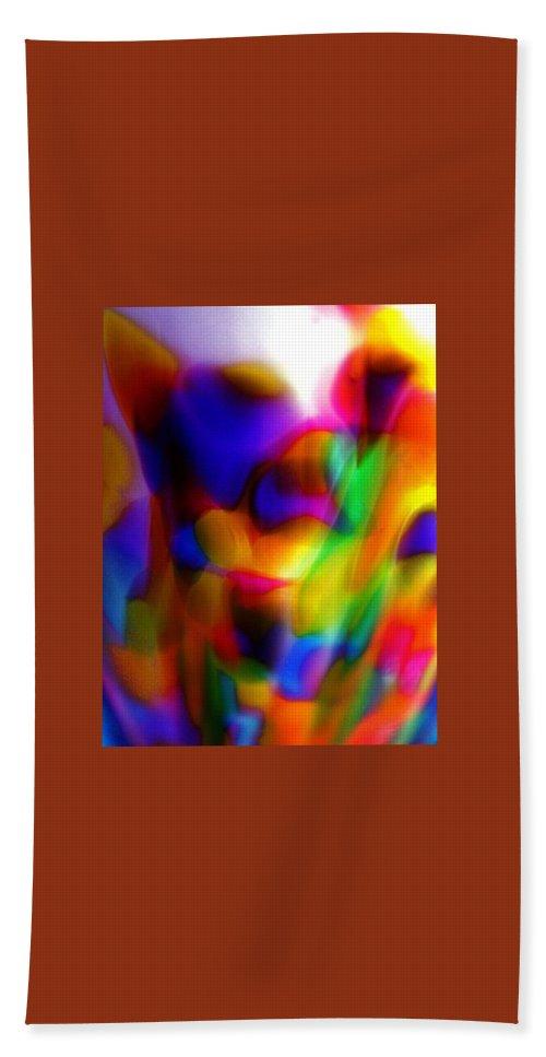 Nebula Beach Towel featuring the photograph Clown Chakra Nebula by Tim G Ross
