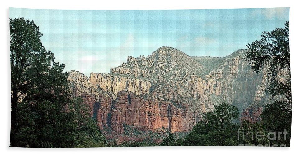 Coconino Beach Towel featuring the photograph Coconino National Forest by Kathleen Struckle