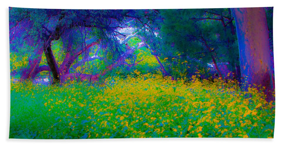 Bright Beach Towel featuring the photograph Colibri Acid 2 by Kent Nancollas