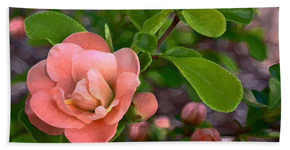 Floral Beach Towel featuring the photograph Color 133 by Pamela Cooper