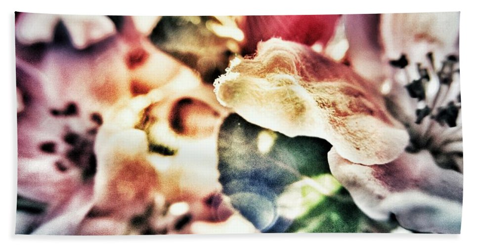 Flower Beach Towel featuring the photograph Color Me Pretty... by Marianna Mills