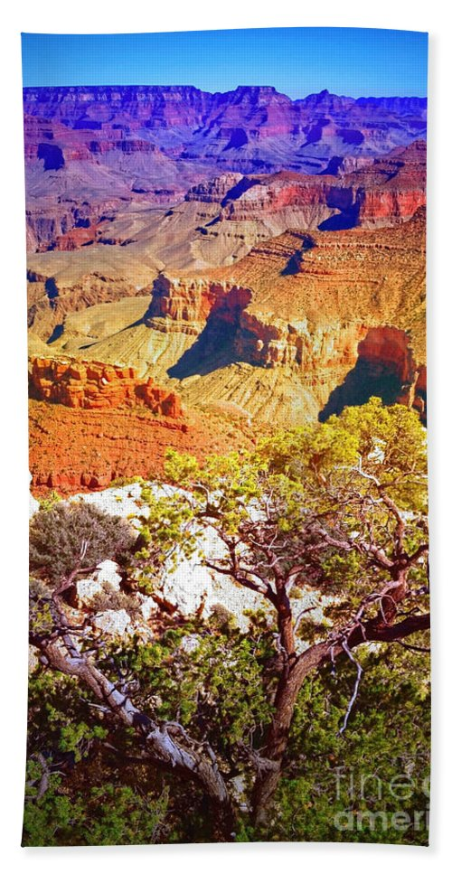 Layers Beach Towel featuring the photograph Colours Within The Canyon by Tara Turner
