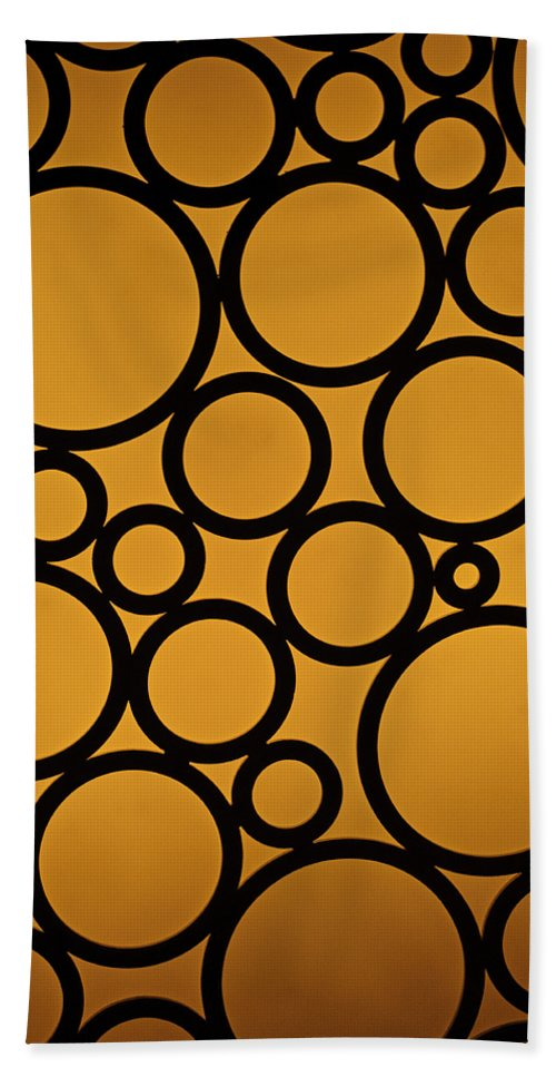 Abstract Beach Towel featuring the photograph Come Full Circle by Christi Kraft