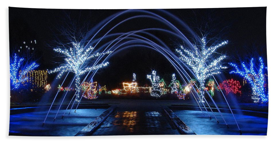 Fine Art Beach Towel featuring the photograph Come On Through by Rodney Lee Williams