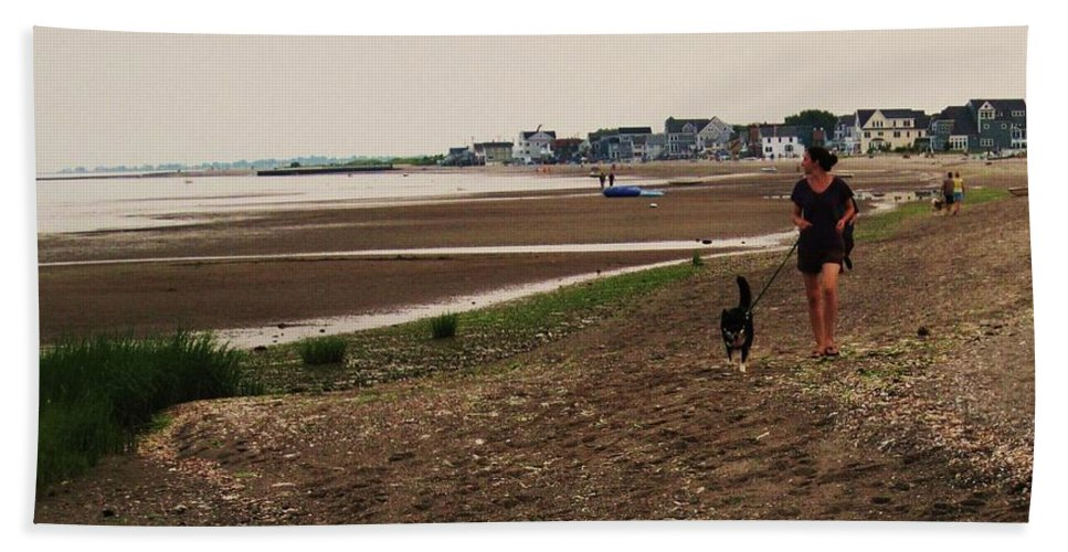 Beach Beach Towel featuring the photograph Connecticut Beach by John Scates