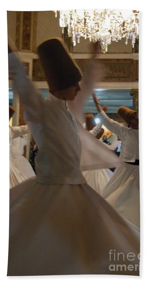 Whirling Dervishes Beach Towel featuring the photograph Constant Motion by Bob Phillips