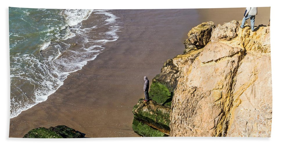 Beach Beach Towel featuring the photograph Contemplation by Kate Brown