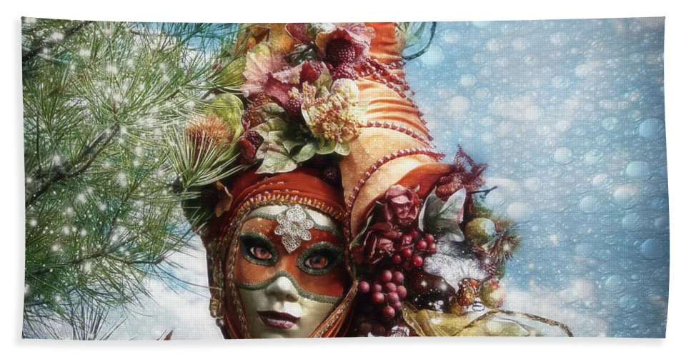 Horn Beach Towel featuring the photograph Cornucopia by Barbara Orenya