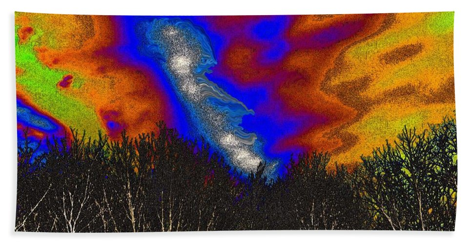 Cosmic Beach Towel featuring the photograph Cosmic Forces by Robyn King